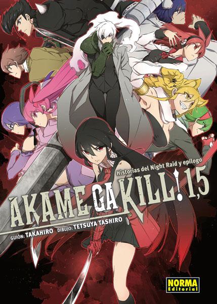 Akame ga kill 1,5