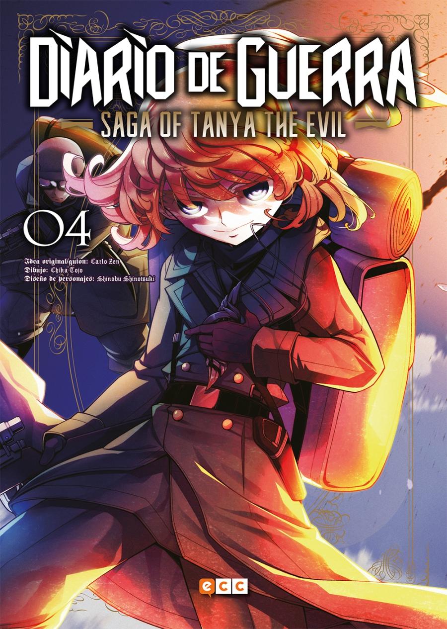 diario de guerra saga of tanya the evil 4