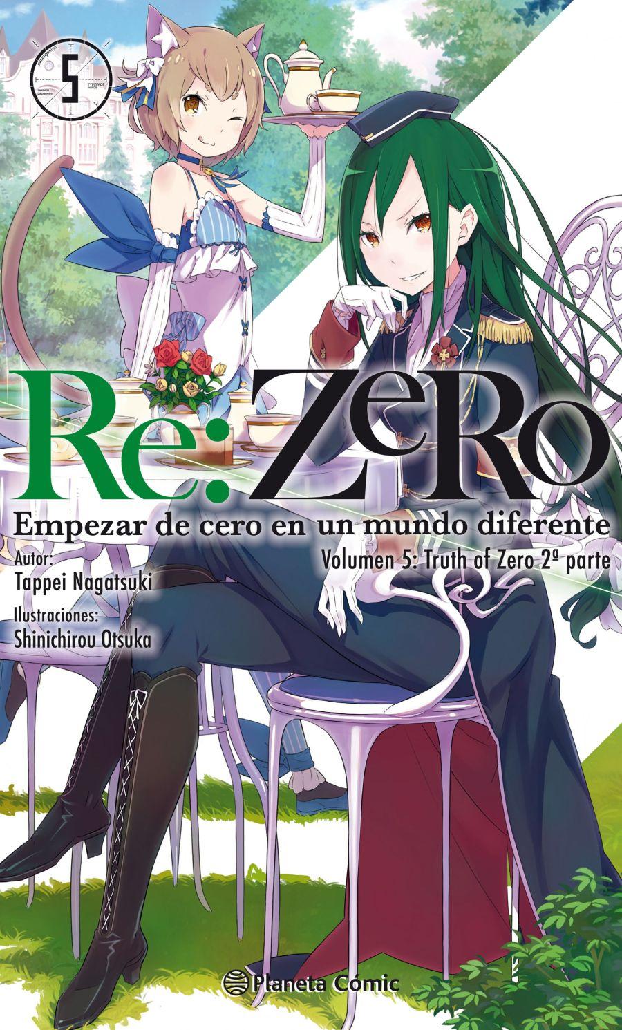 rezero novela 5