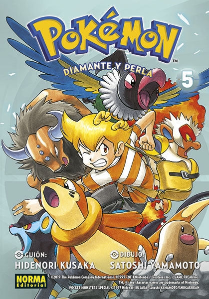 pokemon diamante y perla 5