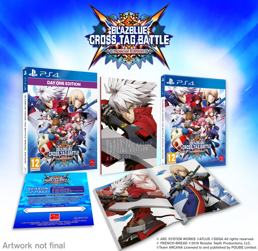 Blazblue Cross Tag Battle Special Editio