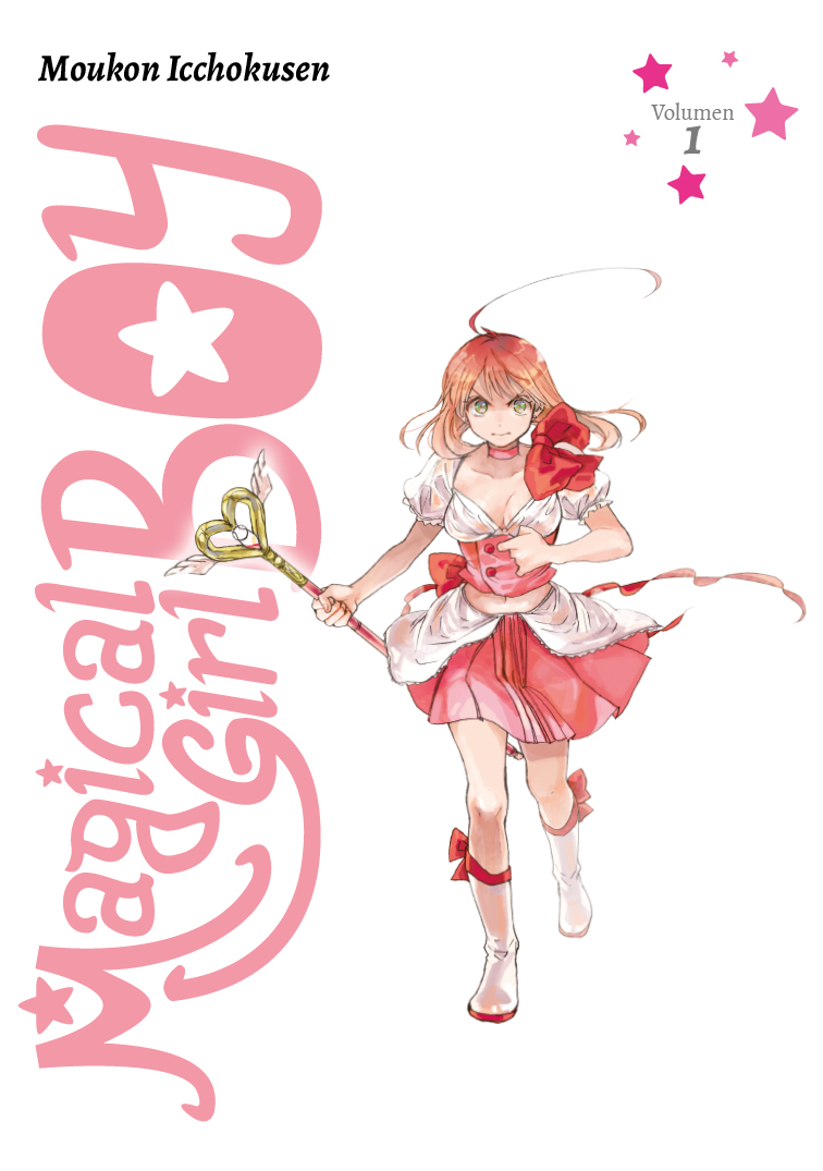 Magical Girl Boy 1 - Sobrecubierta