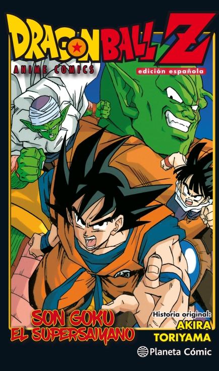 Dragon Ball Z Son Goku el supersayano CAST
