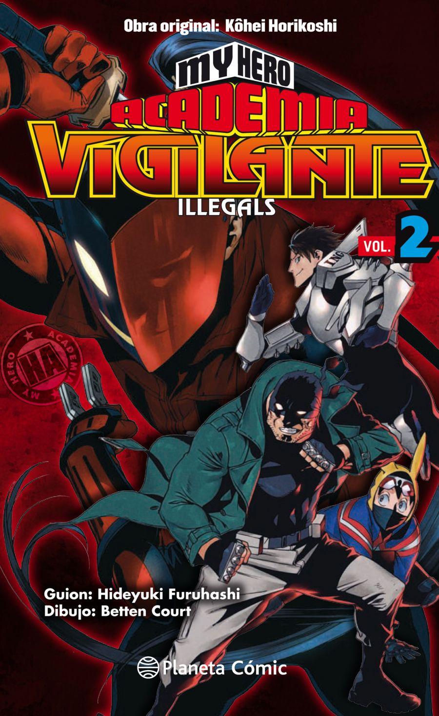 my hero academia vigilante illegals 2