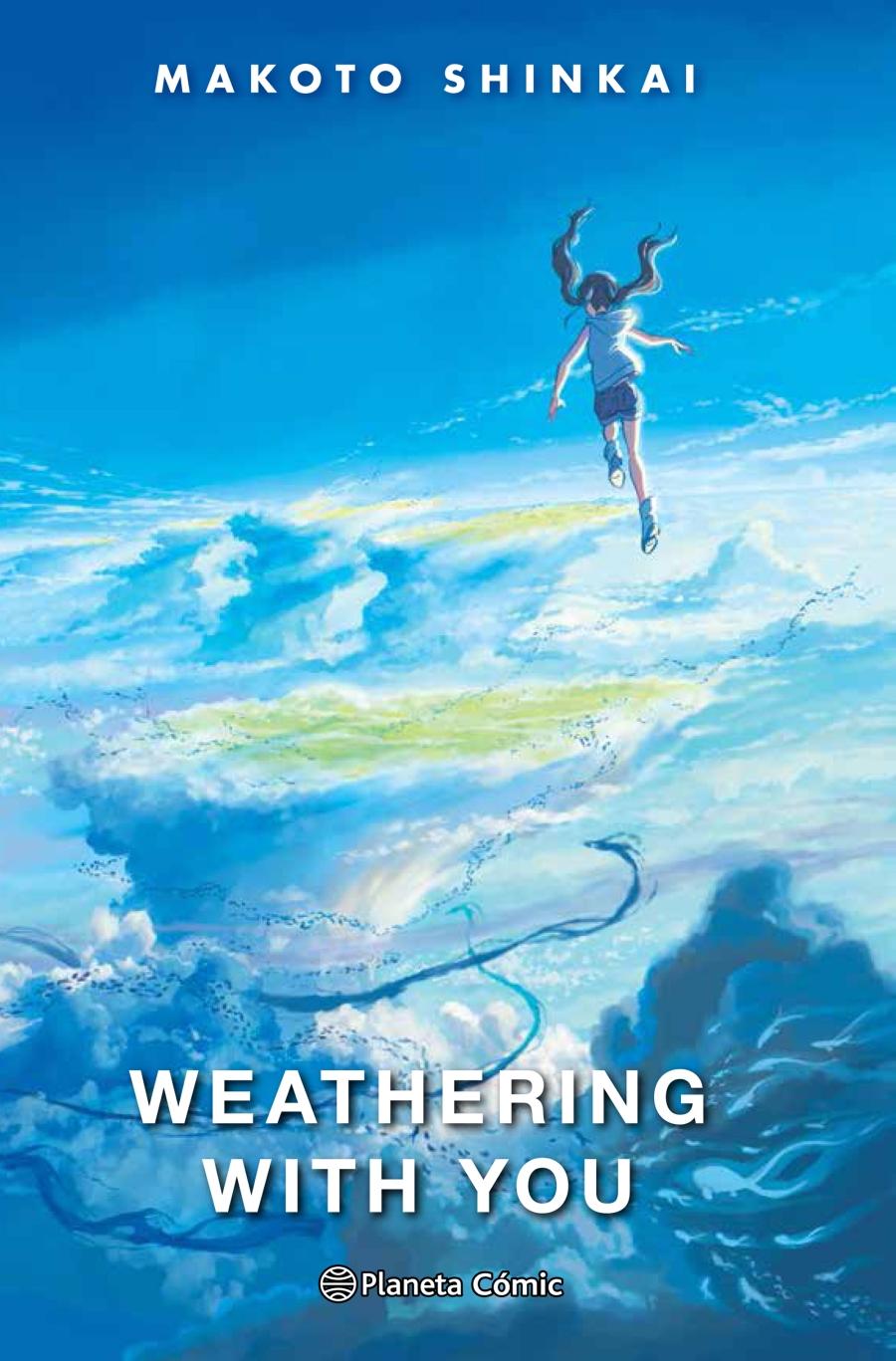 weathering with you novela